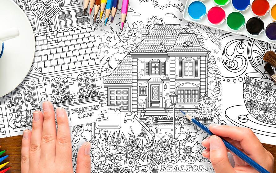 How to colour your way to a better day! – CREA