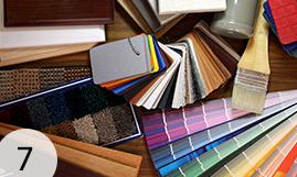 Paint colours.